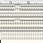 テキストファイルからの文字列抽出