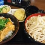 三ツ星食レポ 丸亀製麺 親子丼 ★★