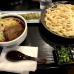 三ツ星食レポ 武蔵野うどん 竹國 あま辛汁うどん ★★★