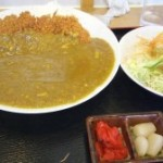 三ツ星食レポ 金ちゃん食堂 カツカレー ★★★