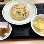 三ツ星食レポ  手もみラーメンジロー チャーハン ★★